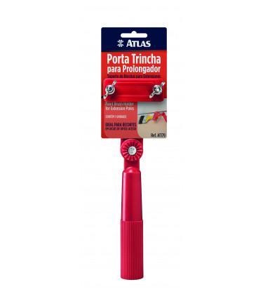 Articulated brush holder