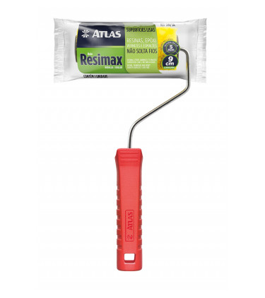 9cm Resimax mini roller with handle