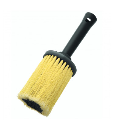 7,5cm diameter round synthetic brush