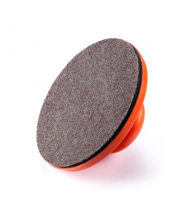 Manual holder for circular abrasive