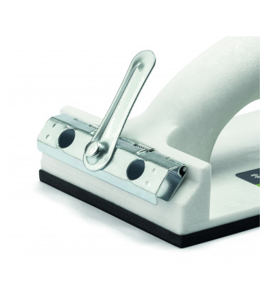 Manual sandpaper holder