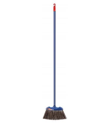 Large rigid bristle broom